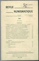 * Revue numismatique, 151e volume, 1996