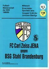 OL 88/89 FC Carl Zeiss Jena-acciaio Brandeburgo, RS-B