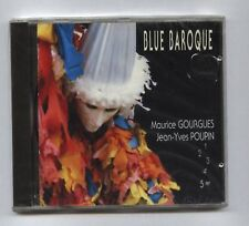 Jean Yves POUPIN/M.GOURGUES Blue Baroque FRENCH CD MUSIMUSE (1992)jazz  SEALED!!