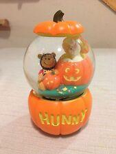 Winnie the Pooh's Happy Halloween Musical Snow Globe