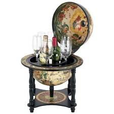 "Kassel™ 13"" Diameter Italian Replica Globe Home Bar ~ New"