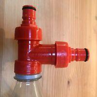 Kegland Carbonation Cap Tee Piece PET Bottle Counter Pressure Filler Corny Keg