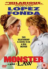 DVD:MONSTER IN LAW - NEW Region 2 UK