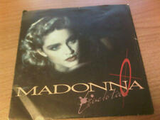 """7"""" 45 GIRI MADONNA LIVE TO TELL SIRE 92 8717-7 VG+/EX- ITALY PS 1986"""