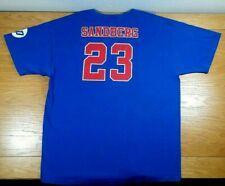 RYNE SANDBERG Iowa Cubs Chicago Cubs AAA Minor League Team SGA T-Shirt Men's XL