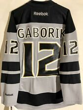 Reebok Premier NHL Jersey Los Angeles Kings Marian Gaborik Grey sz S