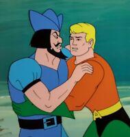 Aquaman Hour Animation Cel Production Art