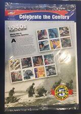 Scott's Destash- #3186a-o 33 Cent  Celebrate the Century 1940s Pane of 15 WA MNH