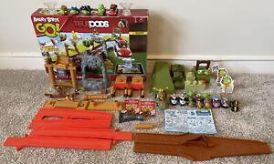3 Sets Angry Birds Go! Telepods Pig Rock Raceway, Mega Mayhem & Tower Takedown