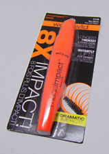 Lot of 2 WET N WILD MEGAIMPACT 8X The Volume Mascara Black 0.27oz./ 8ml