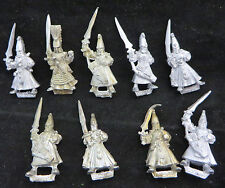 Warhammer High Elves Warriors shadow oop  army lot metal