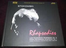 *Sample Copy* Audiophile CD Stokowski Rhapsodies XRCD JVC JM-XR24019 Very Rare