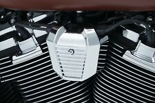 Kuryakyn 6466 Chrome Precision Coil Cover for 2018 Harley Softail Milwaukee 8