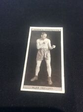 Alex Ireland 20 1928 Ogdens Boxing Cigarette card Boxer Pugilists in action