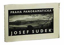 Praha Panoramaticka by JOSEF SUDEK ~ First Edition 1959 ~ Photography Prague 1st