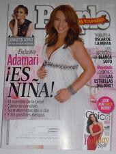 People Spanish Magazine Jennifer Lopez & Oscar De La Renta December 2014 120514R