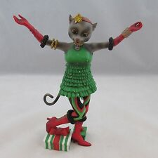 """Retired Alley Cats Figurines Party Girl 7.5"""" tall by Margaret LeVan"""