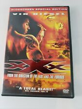 Xxx (Dvd, 2002, Widescreen Special Edition) Featuring Vin Diesel - Free Shipping
