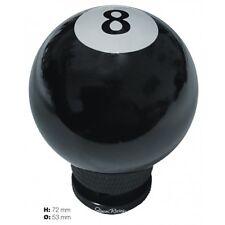 POMELLO UNIVERSALE BILLIARD DESIGN 8 NERO BALL SIMONI RACING