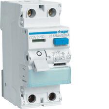 Hager CDA225D FI-Schalter 2P 6kA 25A 30mA Typ A