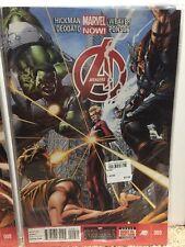 Avengers #9 Hickman Weaver Deodato Comic Book