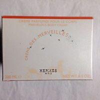 HERMES Creme Des Merveilles Marvelous Body Cream 6.5oz  - New in Box