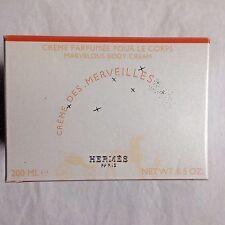 Hermes Creme Des Merveilles Pour Le Corps Marvelous Body Cream 6.5 oz / 200 ml