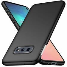 For Samsung Galaxy S10e Case Ultra Slim Hard Back Cover - Matte Black