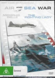 Air and Sea War Memphis Belle The Fighting Lady - DVD Series New