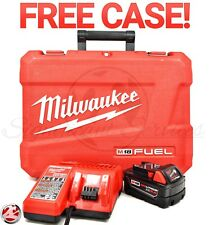 New Milwaukee 48-59-1850 M18 Lithium-Ion 5.0 Ah XC Battery Charger Starter Kit
