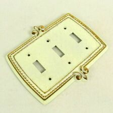 Vintage Switchplate Three Toggle