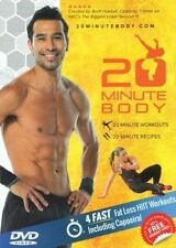 Cardio Toning EXERCISE DVD - 20 Minute Body Program BRETT HOEBEL - 4 Workouts!