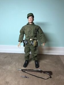 Vintage 1964 Gi Joe With Accessories Action Pack Clothing