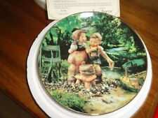 "M I Hummel ""Hot Summer Days"" Plate August"