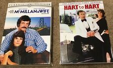 McMillan & Wife Season One & Hart to Hart Season One in two boxed sets
