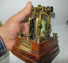 ANCIEN RARE RELAIS BAUDOT TELEGRAPHE TELEPHONE ANTIQUE OLD RELAY TELEGRAPH PHONE