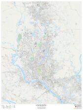 Dhaka, Bangladesh Laminated Wall Map (MSH)