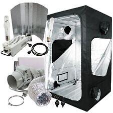 Komplettset Grow-box 120x120x200cm 600W NDL Hortigear Wuchs Blüte + Abluft-set