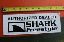 SHARK FREESTYLE Authorized Dealer Watches Surf Fin V15 Vintage Surfing STICKER