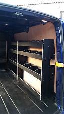 Ford Transit Custom LWB Black Offside Van Racking X2 Ref:Other Pa12