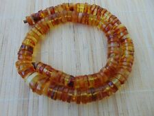 "Natural butterscotch honey Baltic AMBER stones beads Necklace 73 gr 57cm 22.5"""
