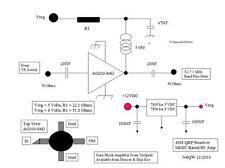 1pcs AG303-86G MMIC RF Amplifier DC-6000MHz 20.5dB SMD SOT-86-4PIN