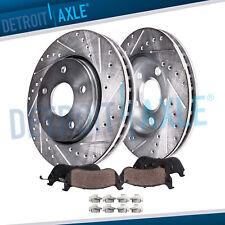 Front Brake Rotors + Brake Pads Honda Accord Civic Element CR-V Rotor Brakes