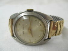 Vintage Swiss made Embe de Lux Men's wrist Watch Antimagnetic Breton band