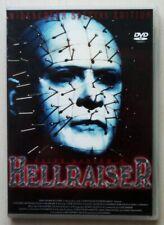 Hellraiser 1,Horror DVD,FULL UNCUT(selten!),DEUTSCH,TOP Zustand !!!