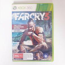 Far Cry 3 - Microsoft Xbox 360 - Free Postage + Manual