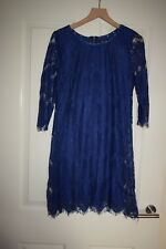 Millenium Cobalt Blue Lace Dress Size M