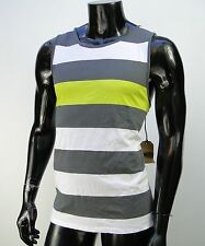 Vans skateboard Summer Striped Surfing Mens T shirt Muscle Tank Top