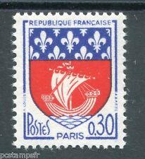 FRANCE 1962 timbre 1354B, Armoiries Paris, neuf**