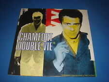 LP 33T / ALAIN CHAMFORT DOUBLE VIE LIVE CBS 4607471 HOLLAND 1988 EX-/VG++